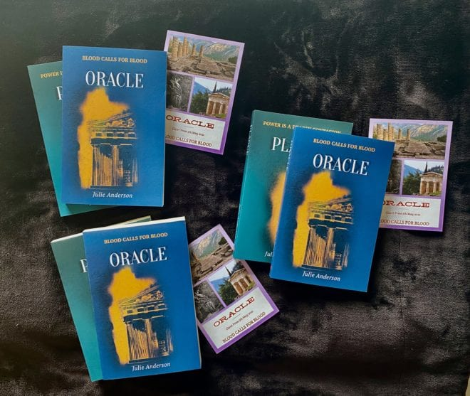 a copy each of Oracle (Delphi) and Plague (London)
