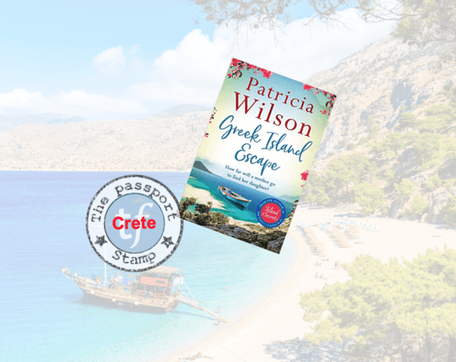 Novel set mainly on CRETE past and present