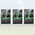 GIVEAWAY – 3 signed copies of The Atomics set in SUFFOLK