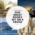 Five Great Books set on a cruise