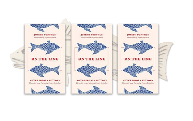 """3 copies of celebrated French bestseller """"On The Line"""""""