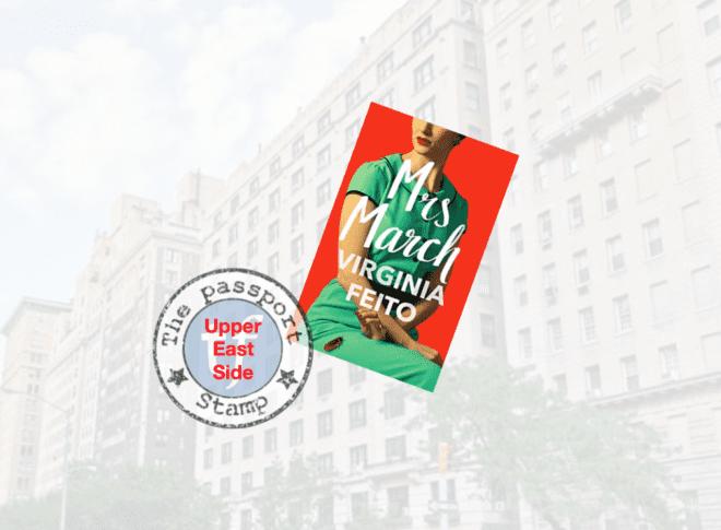 Psychological fiction set in the Upper East Side, MANHATTAN