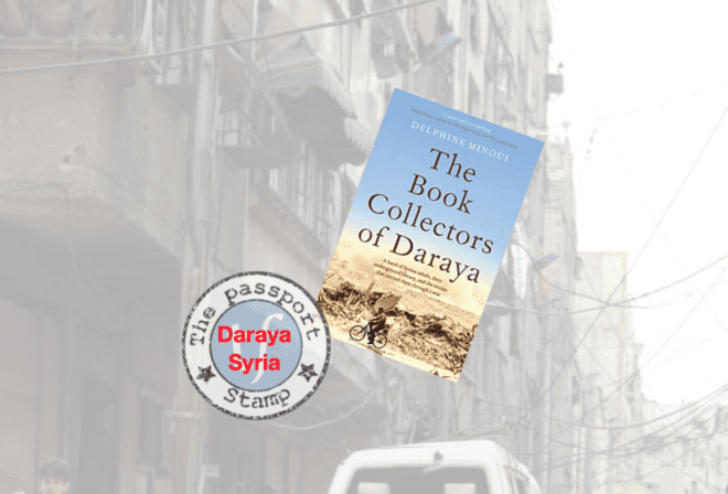 Novel set in Daraya, DAMASCUS